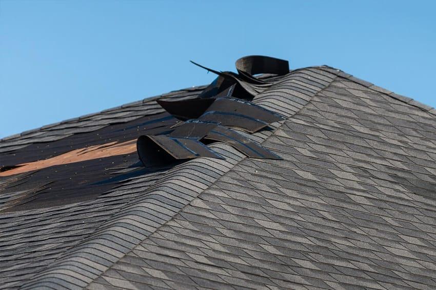 Fixing Damaged Roof Shingles